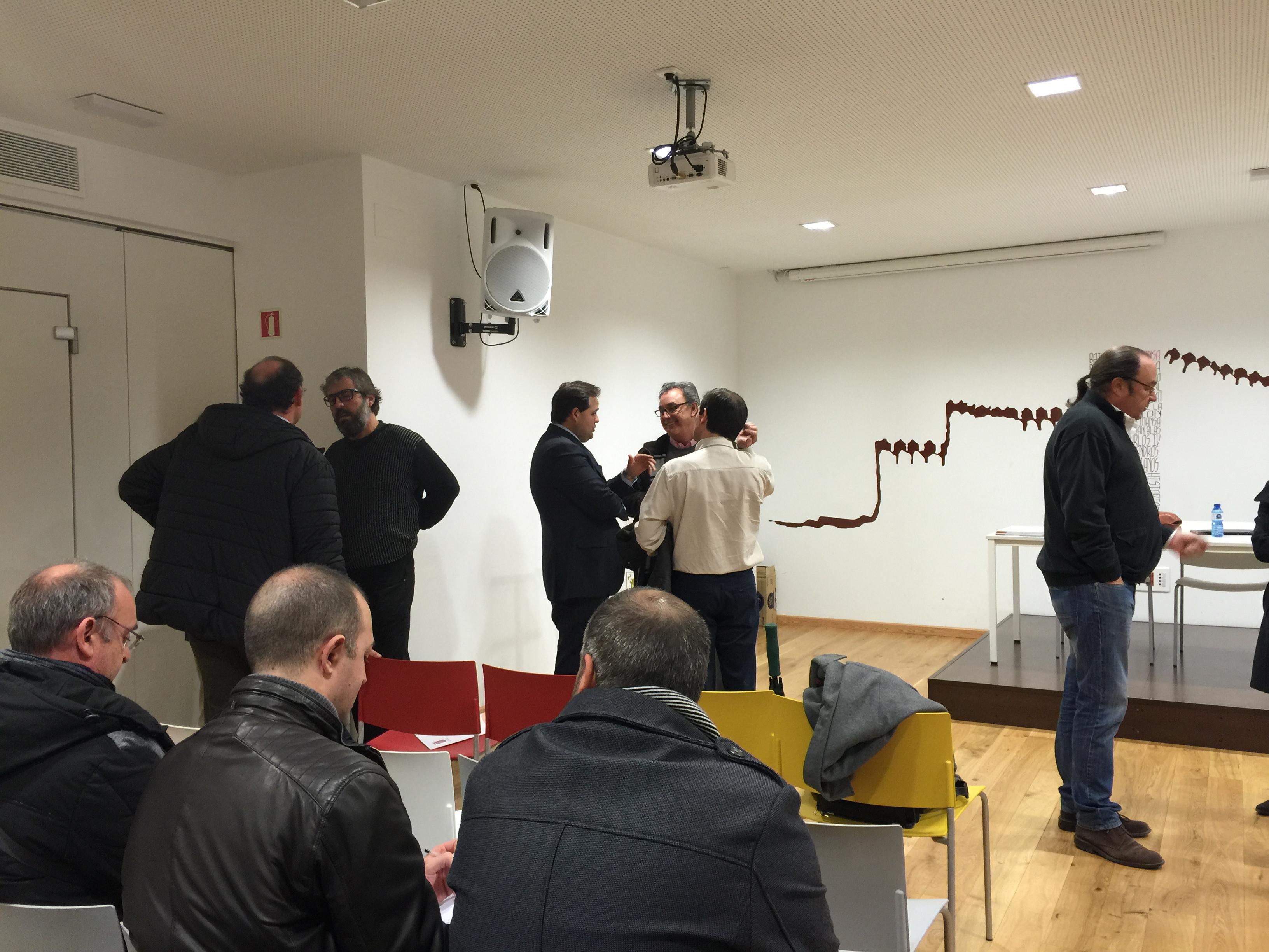 Reunión de la Junta Directiva en Almansa