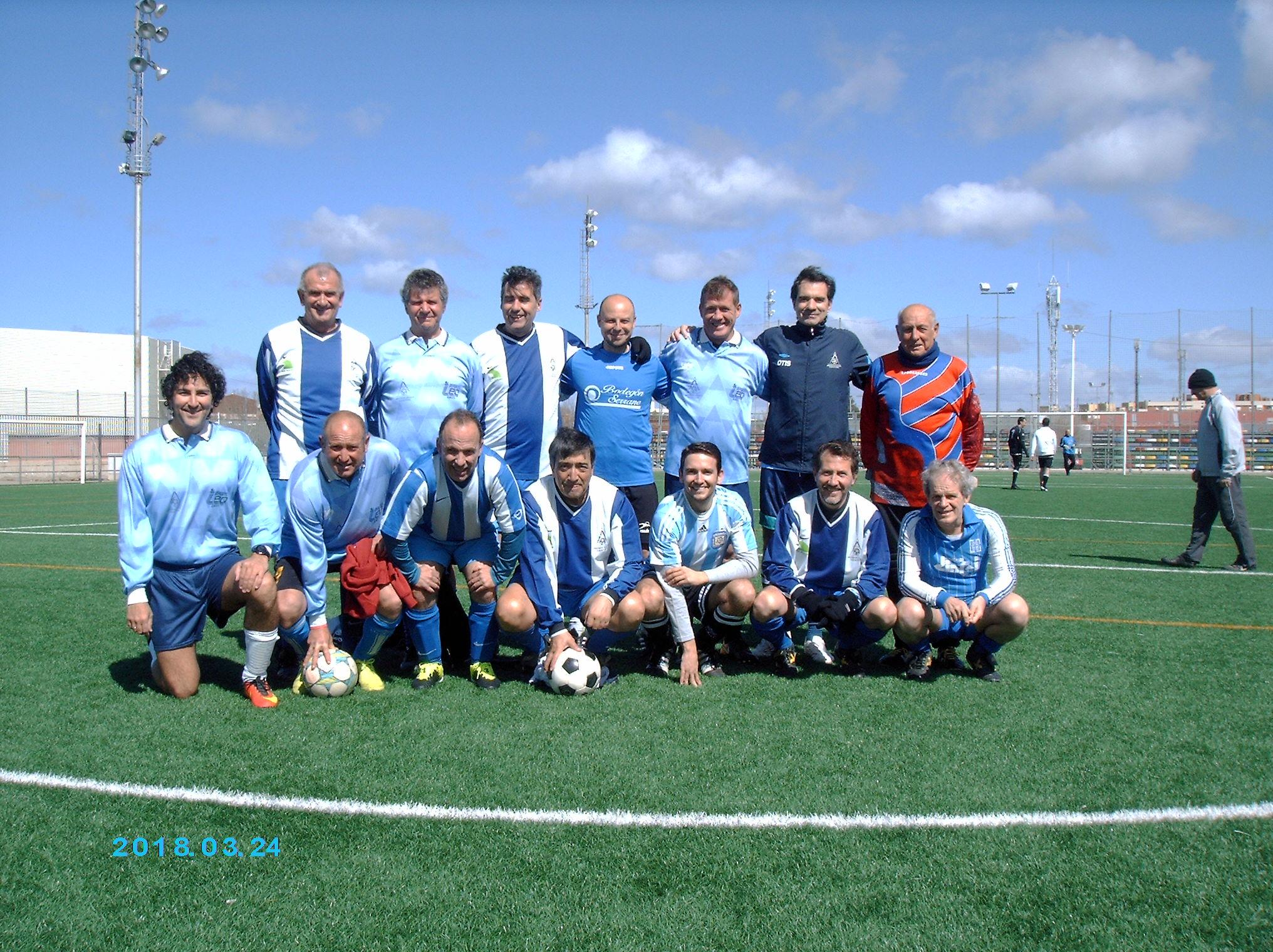 Encuentro Fútbol Arquitectónico: A.CR.C.F. - A.AB.C.F.