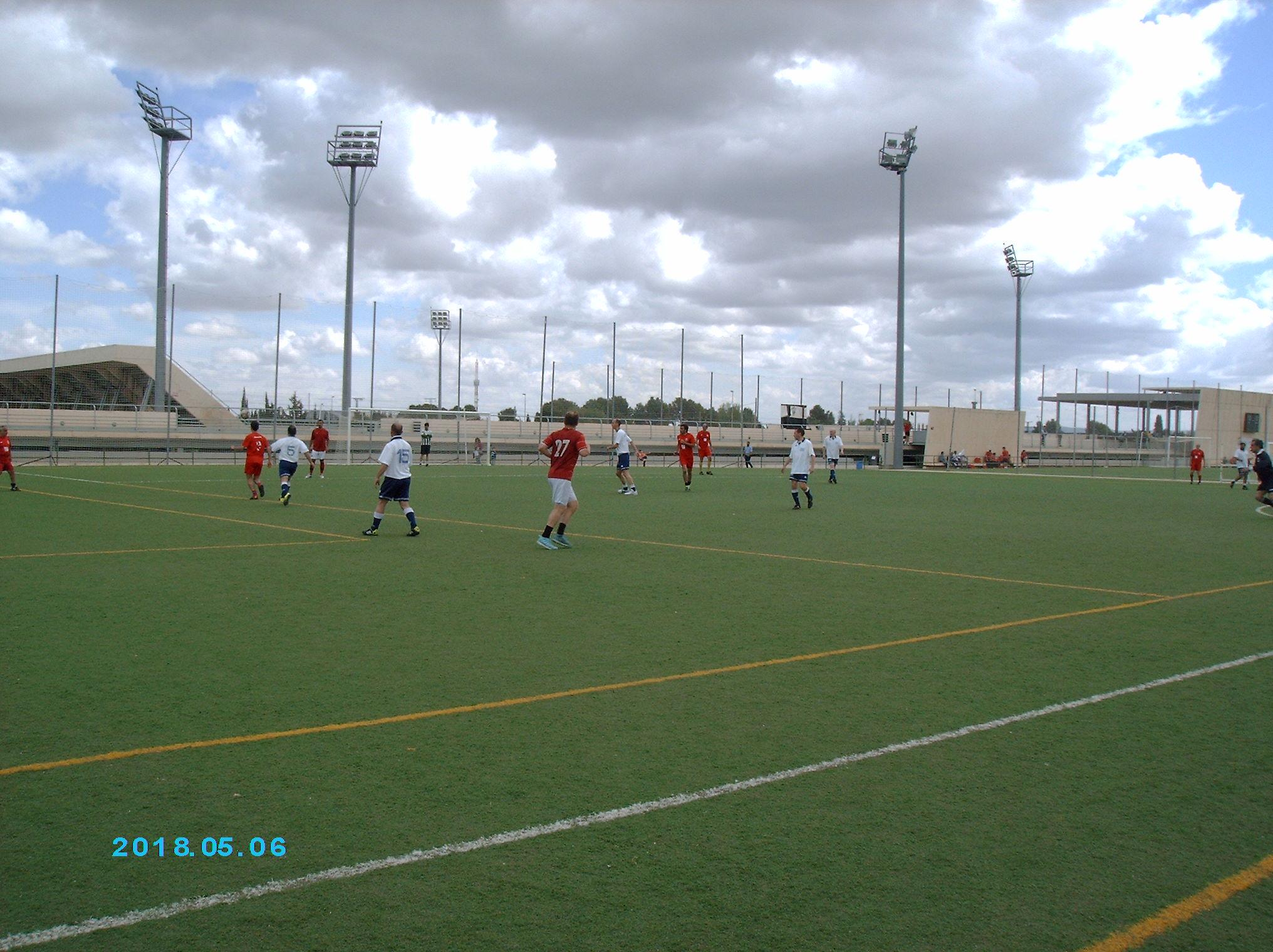 Crónica encuentro Liga Fútbol Arquitectónico Albacete-Barcelona